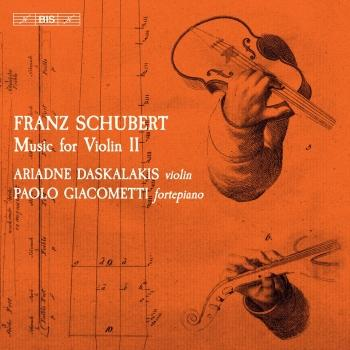 Cover Schubert: Music for Violin, Vol. 2