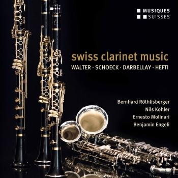 Cover Swiss Clarinet Music
