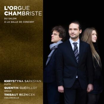 Cover L'orgue chambriste. Du salon à la salle de concert