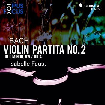 Cover Bach: Violin Partita No. 2, BWV 1004
