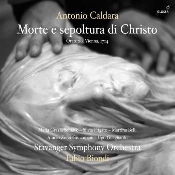 Cover Caldara: Morte e sepoltura di Cristo