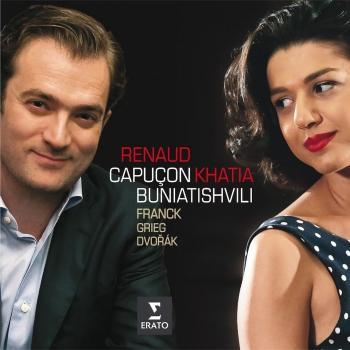 Cover Franck, Grieg, Dvorak: Sonatas for violin & piano