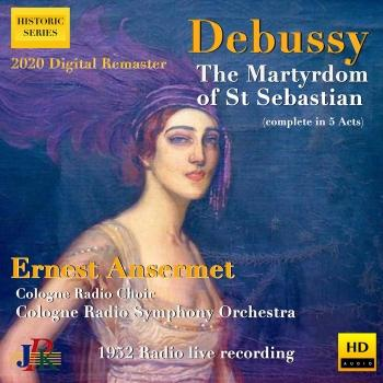 Cover Debussy: The Martyrdom of Saint Sebastian, L. 124