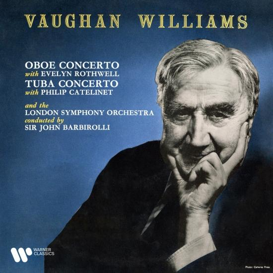 Cover Vaughan Williams: Oboe Concerto & Tuba Concerto (Remastered)