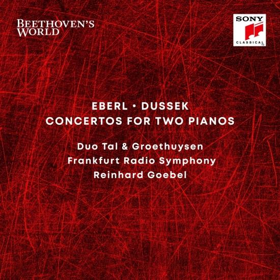 Cover Beethoven's World - Eberl, Dussek: Concertos for 2 Pianos