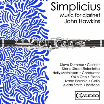 Cover Music for Clarinet by John Hawkins, Vol. 1: Simplicius