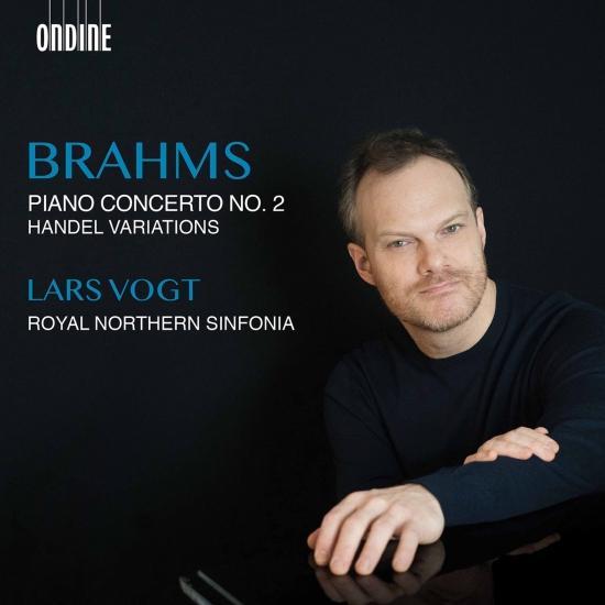Cover Brahms: Piano Concerto No. 2 & Handel Variations