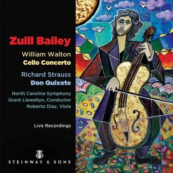 Cover Walton: Cello Concerto - Strauss: Don Quixote, Op. 35, TrV 184 (Live)