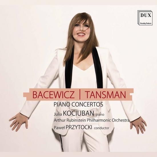 Cover Tansman & Bacewicz: Piano Concertos