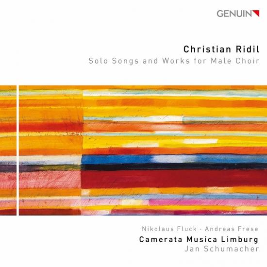 Cover Christian Ridil: Solo Songs & Works for Male Choir
