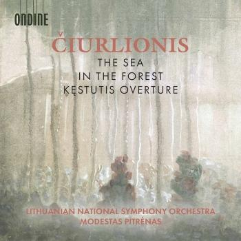 Cover Čiurlionis: The Sea, In the Forest & Kęstutis