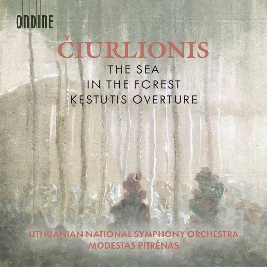 Cover Čiurlionis: The Sea, In the Forest & Kęstutis