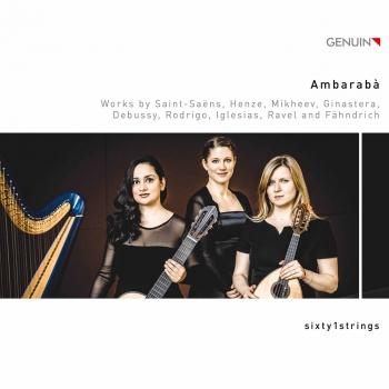 Cover Ambarabà: Works by Saint-Saëns, Henze & Others