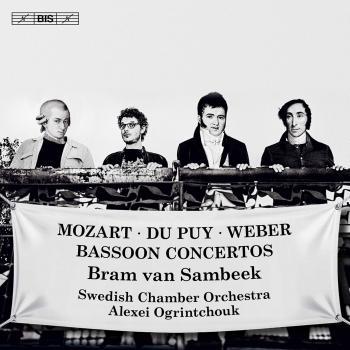 Cover Mozart, Weber & Du Puy: Bassoon Concertos