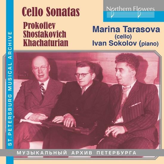 Cover Prokofiev, Shostakovich & Khachaturian: Cello Sonatas