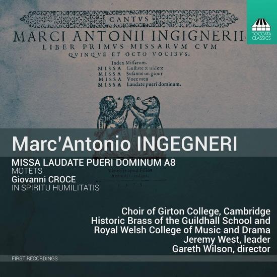 Cover Ingegneri: Missa laudate pueri Dominum & Other Works
