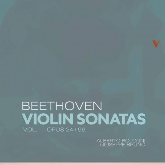 Cover Beethoven: Violin Sonatas, Vol. 1 – Opp. 24 & 96
