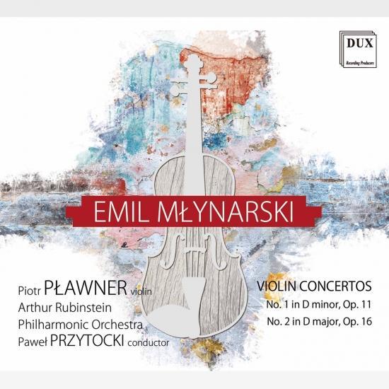 Cover Młynarski: Violin Concertos Nos. 1 & 2