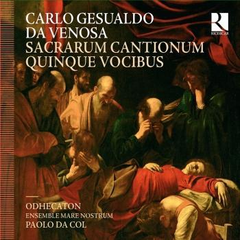Cover Gesualdo da Venosa: Sacrarum cantionum quinque vocibus