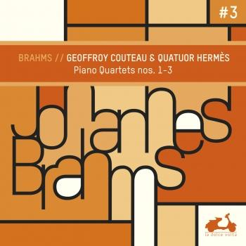 Cover Brahms: 3 Quartets for Piano and Strings