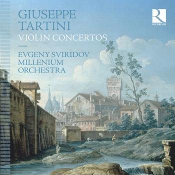 Cover Giuseppe Tartini: Violin Concertos