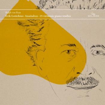 Cover Erik Lotichius: Anaitalrax (25 Virtuosic Piano Studies)