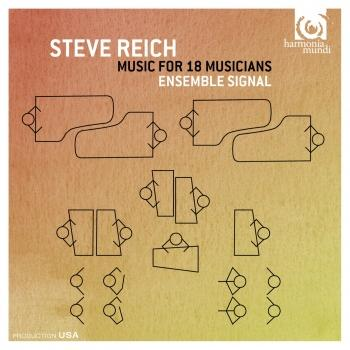 Cover Steve Reich: Music for 18 Musicians