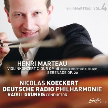 Cover Marteau, Vol. 4: Violin Concerto in C Major, Op. 18 & Serenade, Op. 20