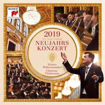 Cover Neujahrskonzert 2019 / New Year's Concert 2019 (DE, AT, CH)