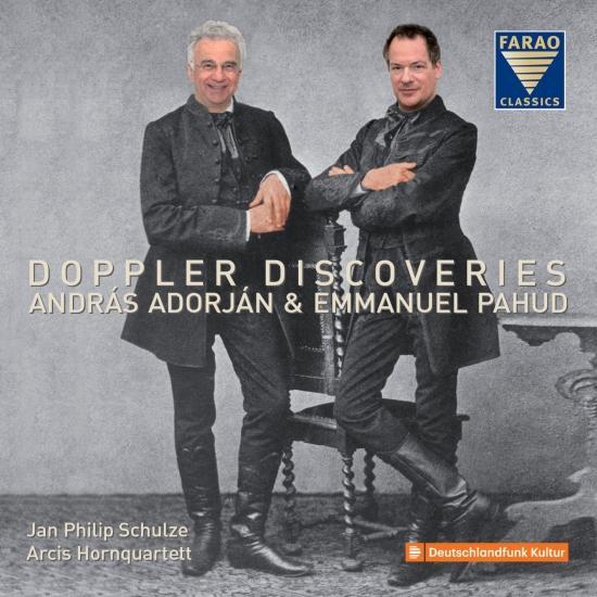 Cover Doppler Discoveries - Franz Doppler & Carl Doppler: Flute Music