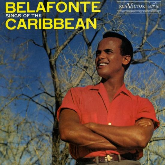 Cover Belafonte Sings of The Caribbean