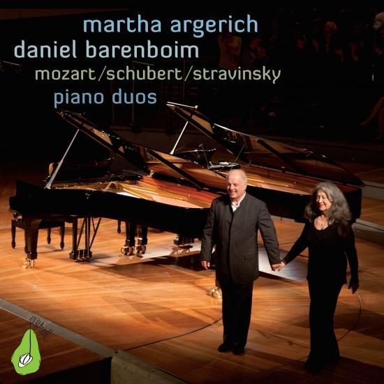 Cover Piano Duos: Mozart / Schubert / Stravinsky