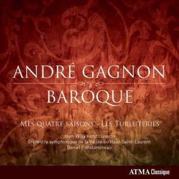 Cover André Gagnon: Baroque