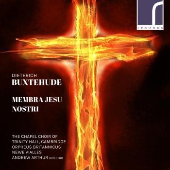 Cover Dieterich Buxtehude: Membra Jesu nostri, BuxWV 75