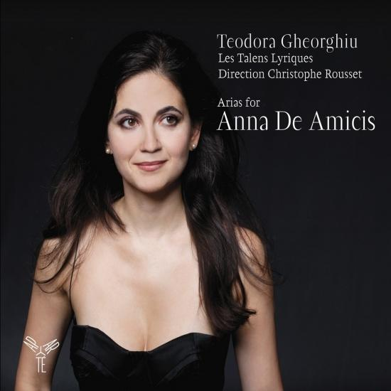 Cover Arias for Anna De Amicis