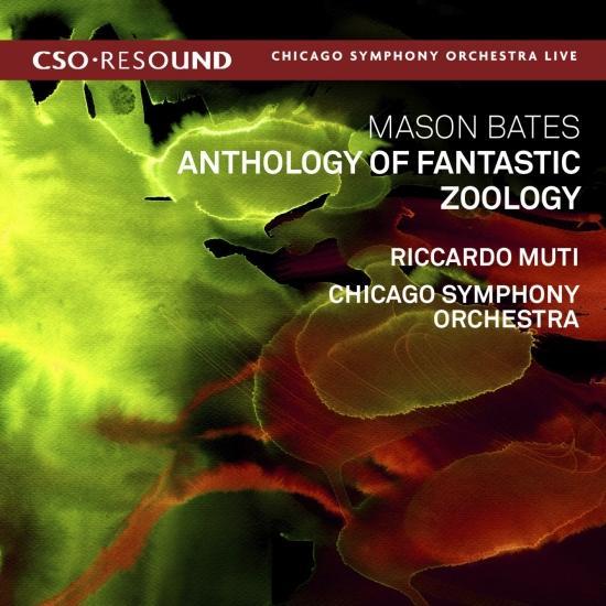Cover Mason Bates: Anthology of Fantastic Zoology (Live)