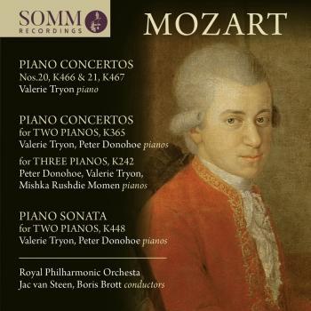 Cover Mozart: Piano Concertos, K. 242, 365, 466 & 467