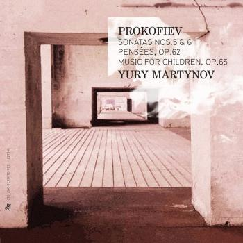 Cover Prokofiev: Sonatas Nos. 5 & 6, Pensées, Op. 62 & Music for Children, Op. 65
