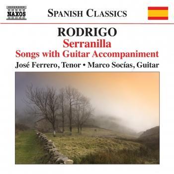 Cover Serranilla: Songs with Guitar Accompaniment