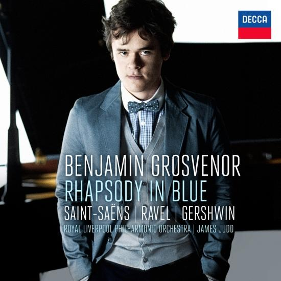 Cover Rhapsody In Blue Saint-Säens, Ravel, Gershwin