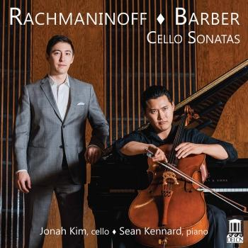 Cover Rachmaninoff & Barber: Cello Sonatas