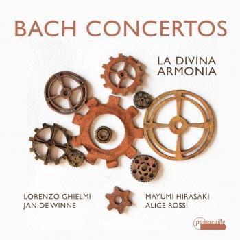 Cover Bach Concertos: La Divina Armonia