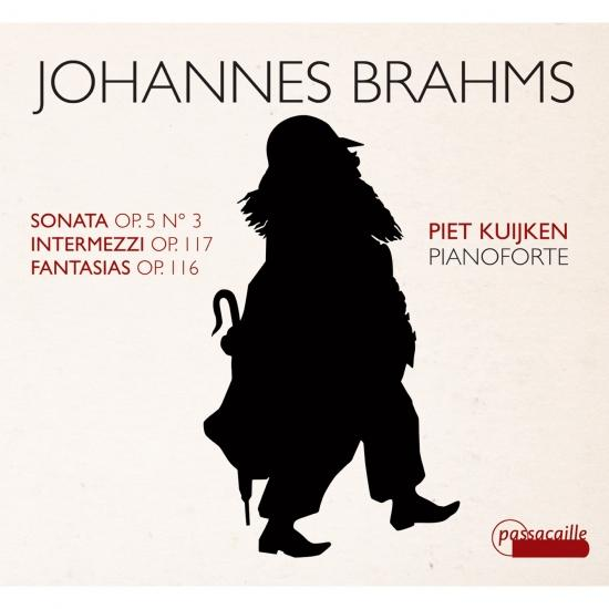 Cover Brahms: Sonata, Intermezzi & Fantasias