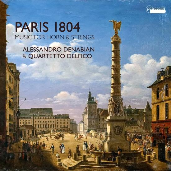 Cover Paris 1804: Music for Horn & Strings