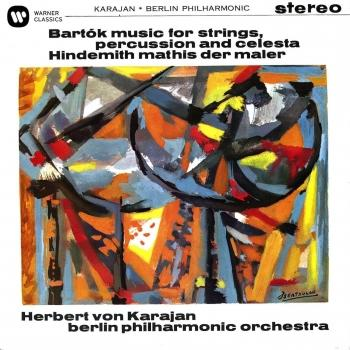 Cover Bartók: Music for Strings, Percussion and Celesta / Hindemith: Symphony (Mathis der Maler)