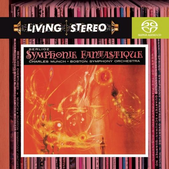 Cover Berlioz: Symphonie Fantastique; Love Scene from Romeo & Juliet