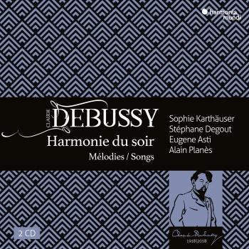 Cover Debussy: Harmonie du soir, mélodies & songs