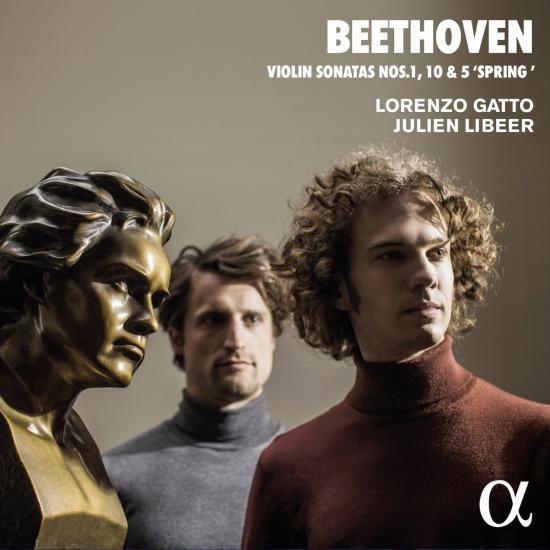 Cover Beethoven: Violin Sonatas No. 1, 10 & 5 'Spring'