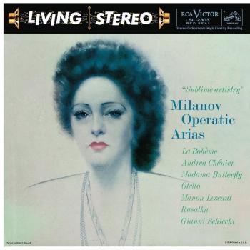 Cover Milanov Operatic Arias