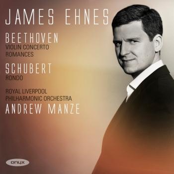 Cover Beethoven: Violin Concerto, Romance - Schubert: Romance